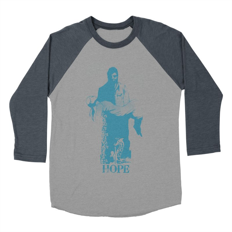 Hope Women's Baseball Triblend T-Shirt by freeimagination's Artist Shop