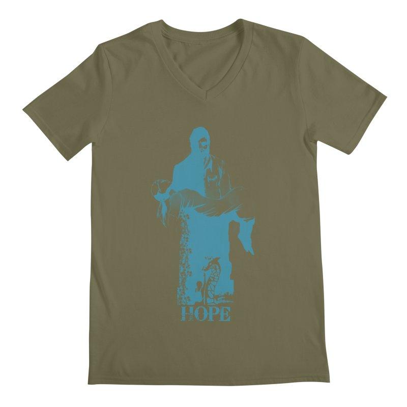 Hope Men's V-Neck by freeimagination's Artist Shop