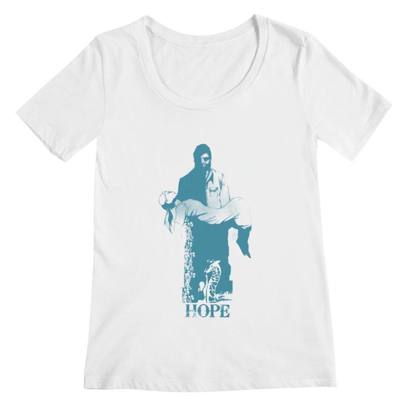Hope Women's Scoopneck by freeimagination's Artist Shop