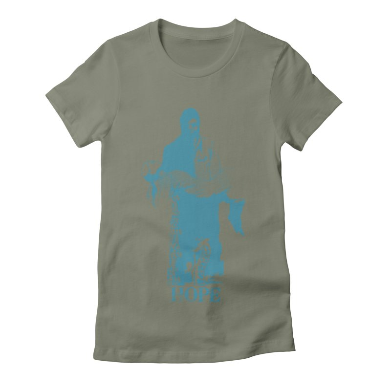 Hope Women's Fitted T-Shirt by freeimagination's Artist Shop