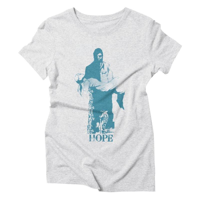Hope Women's Triblend T-shirt by freeimagination's Artist Shop