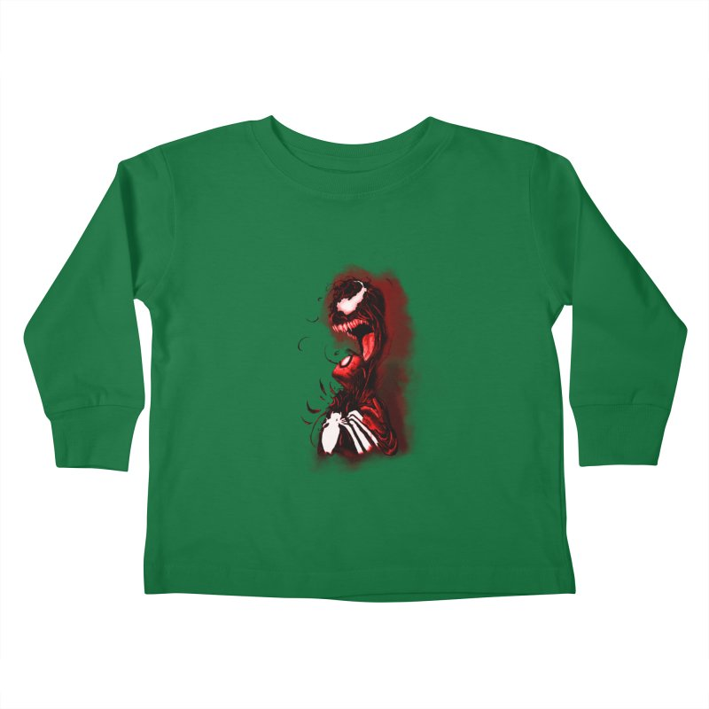 Into The Darkness Kids Toddler Longsleeve T-Shirt by freeimagination's Artist Shop