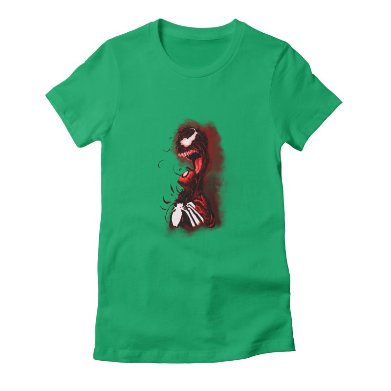 Into The Darkness Women's Fitted T-Shirt by freeimagination's Artist Shop