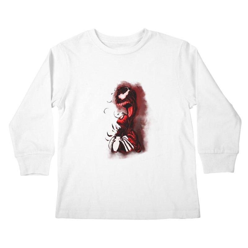 Into The Darkness Kids Longsleeve T-Shirt by freeimagination's Artist Shop