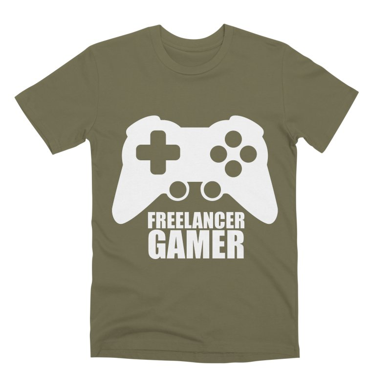 Freelancer Gamer Men's Premium T-Shirt by freelancergamer's Artist Shop