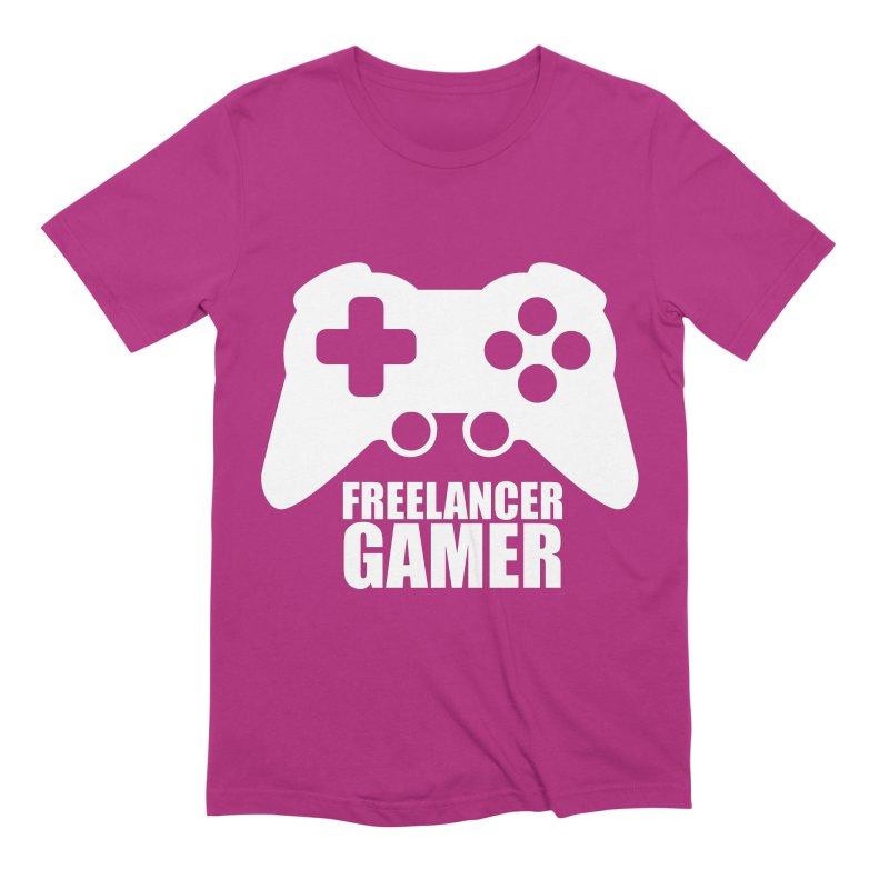 Freelancer Gamer Men's Extra Soft T-Shirt by freelancergamer's Artist Shop