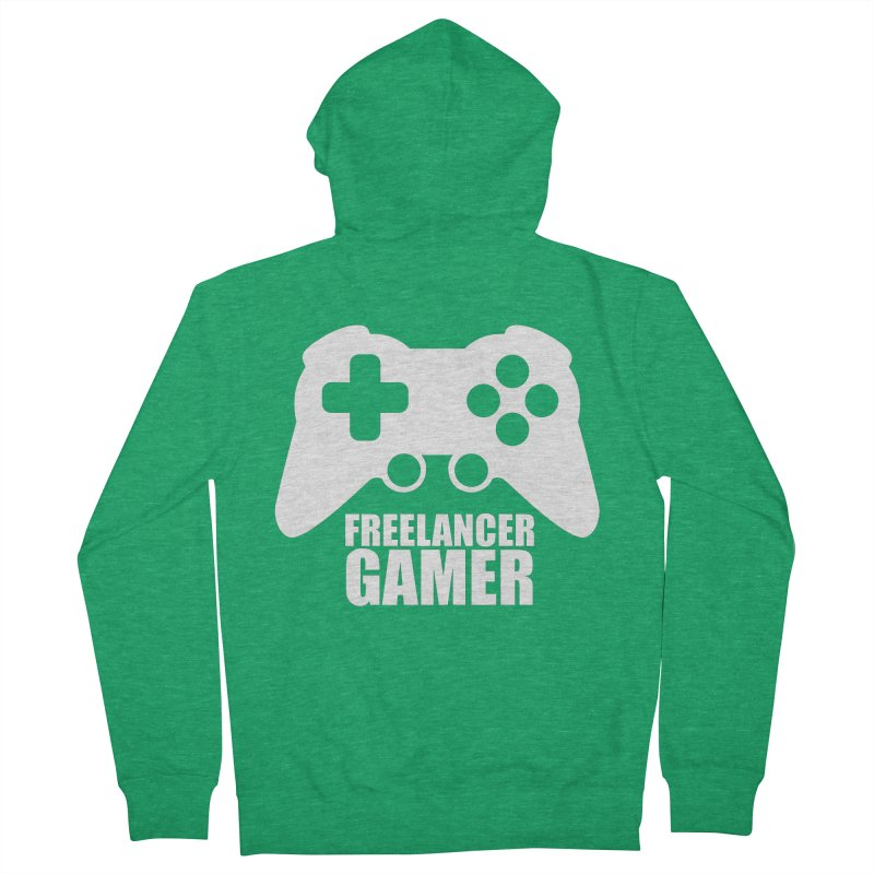 Freelancer Gamer Men's Zip-Up Hoody by freelancergamer's Artist Shop