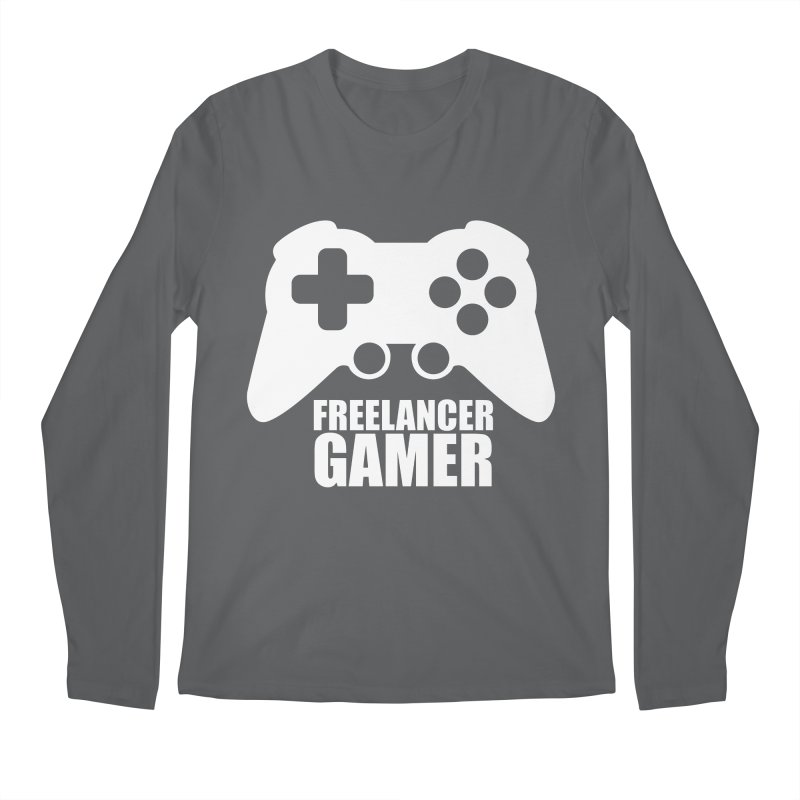 Freelancer Gamer Men's Longsleeve T-Shirt by freelancergamer's Artist Shop