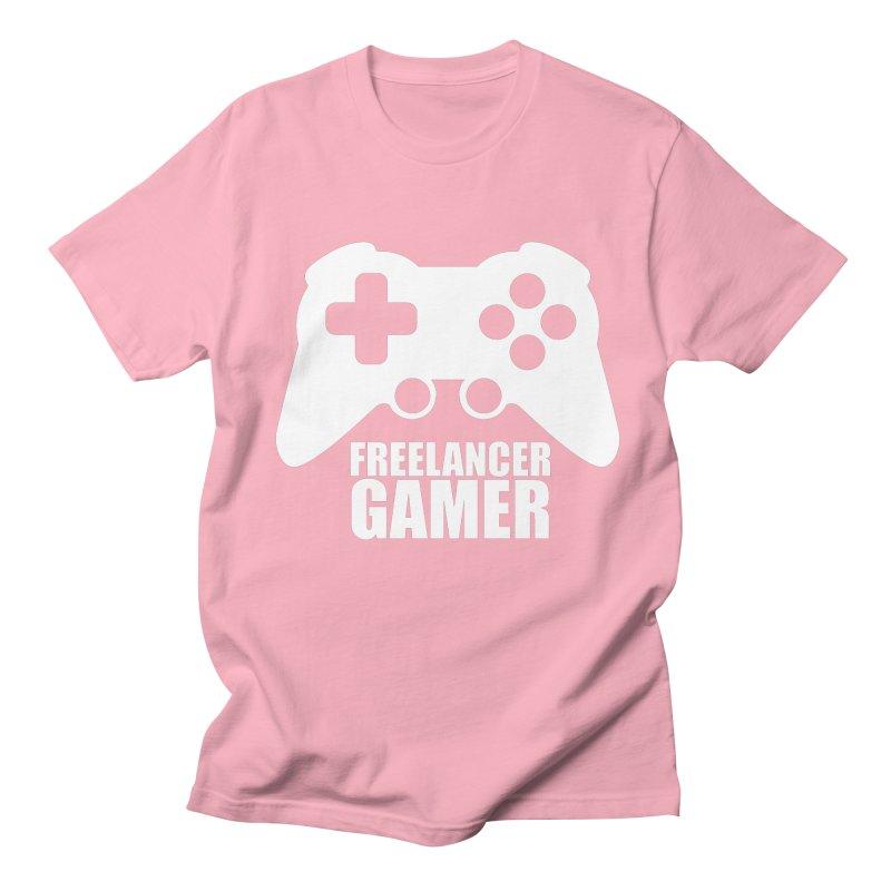 Freelancer Gamer Men's Regular T-Shirt by freelancergamer's Artist Shop