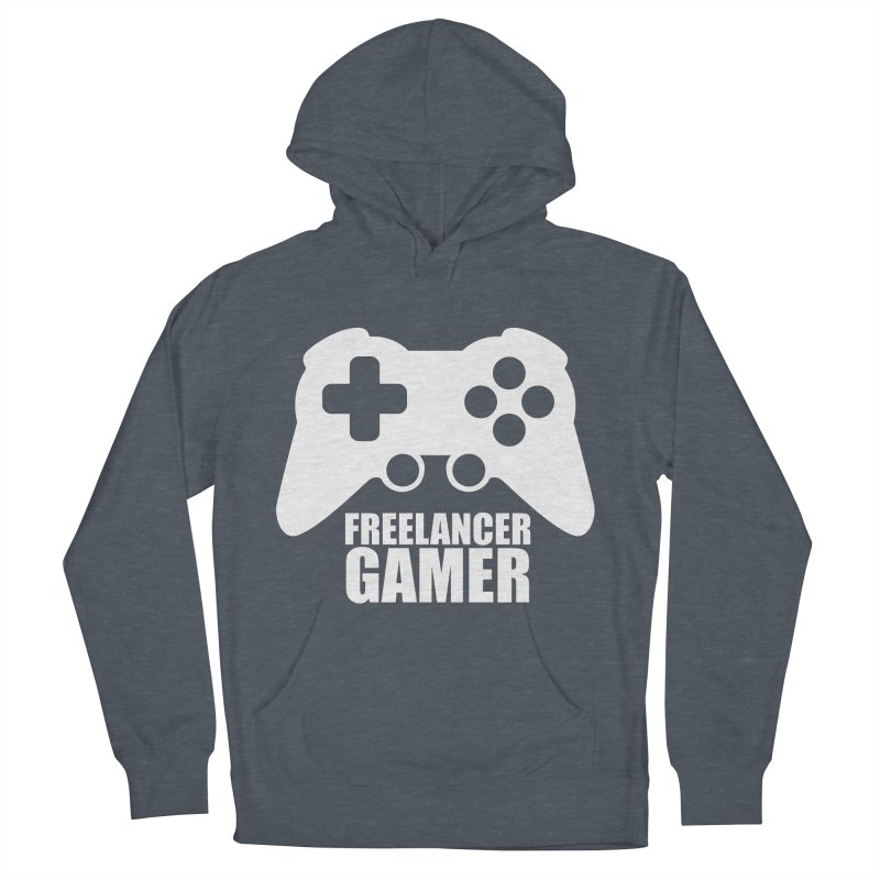 Freelancer Gamer Men's French Terry Pullover Hoody by freelancergamer's Artist Shop