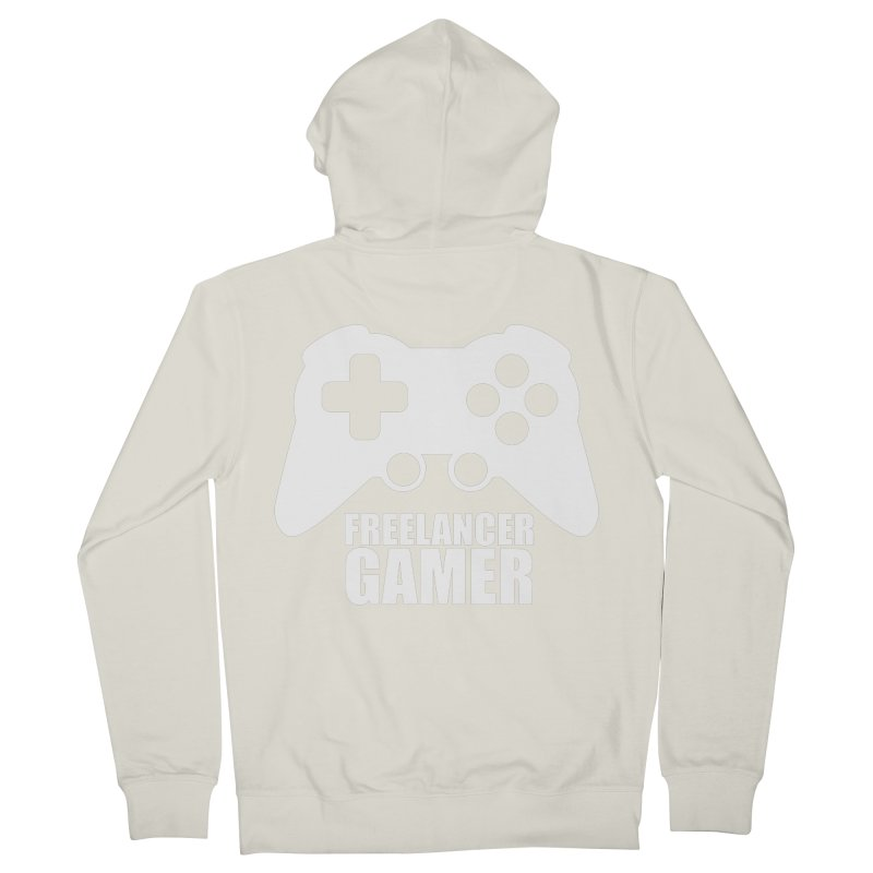 Freelancer Gamer Men's French Terry Zip-Up Hoody by freelancergamer's Artist Shop