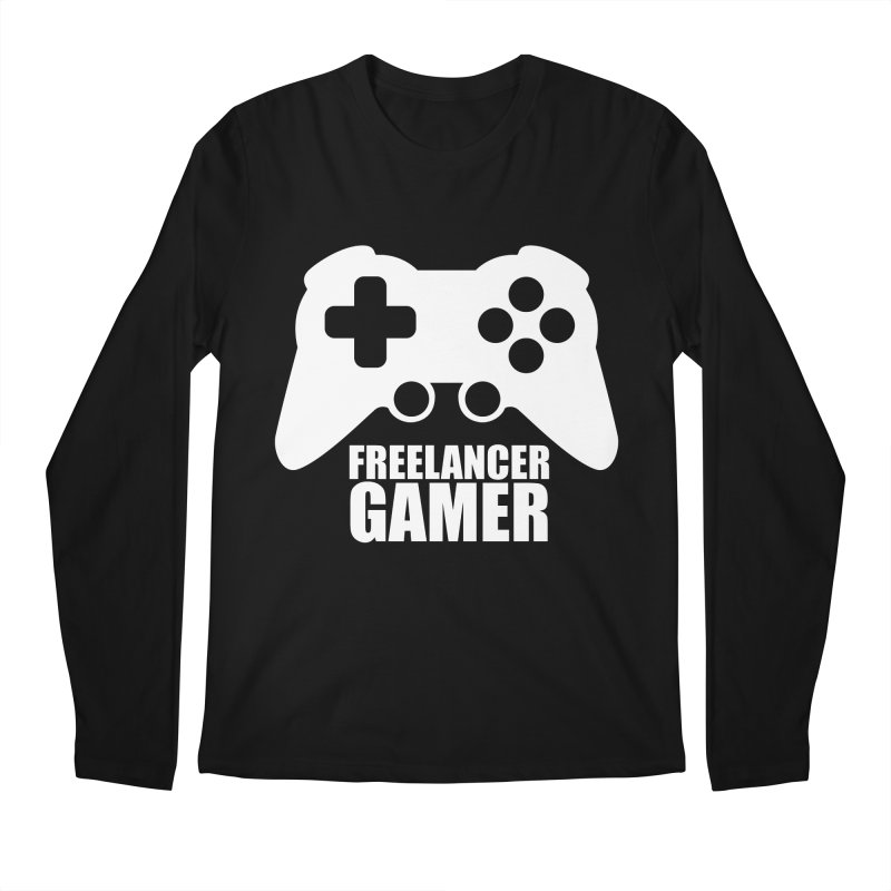 Freelancer Gamer Men's Regular Longsleeve T-Shirt by freelancergamer's Artist Shop