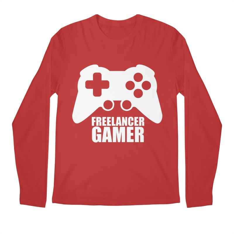 Freelancer Gamer Men's Regular Longsleeve T-Shirt by freelancergamer's Artist Shop