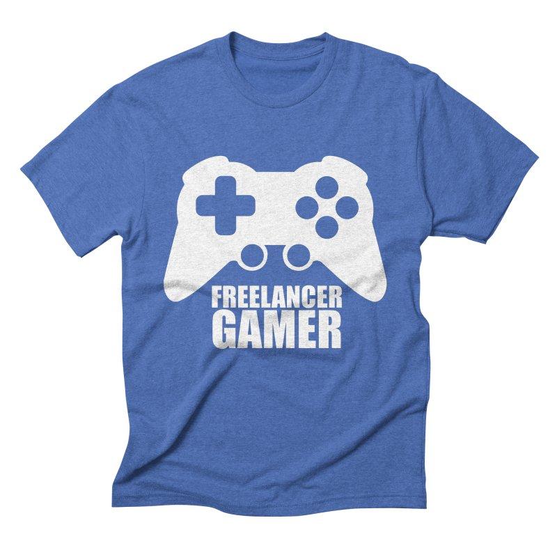 Freelancer Gamer Men's Triblend T-Shirt by freelancergamer's Artist Shop