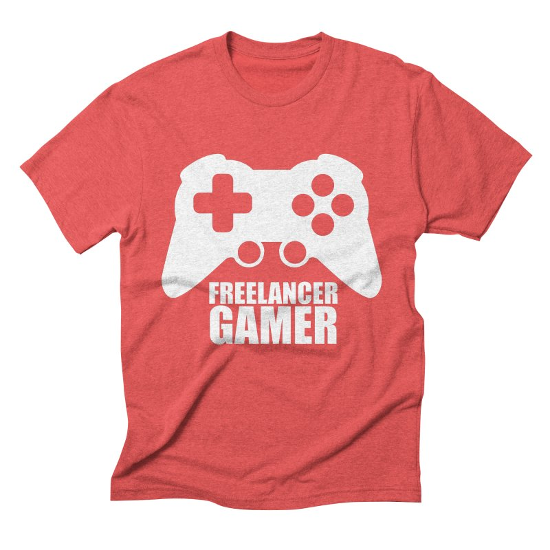 Freelancer Gamer Men's Triblend T-Shirt by freelancergamer's Artist Shop