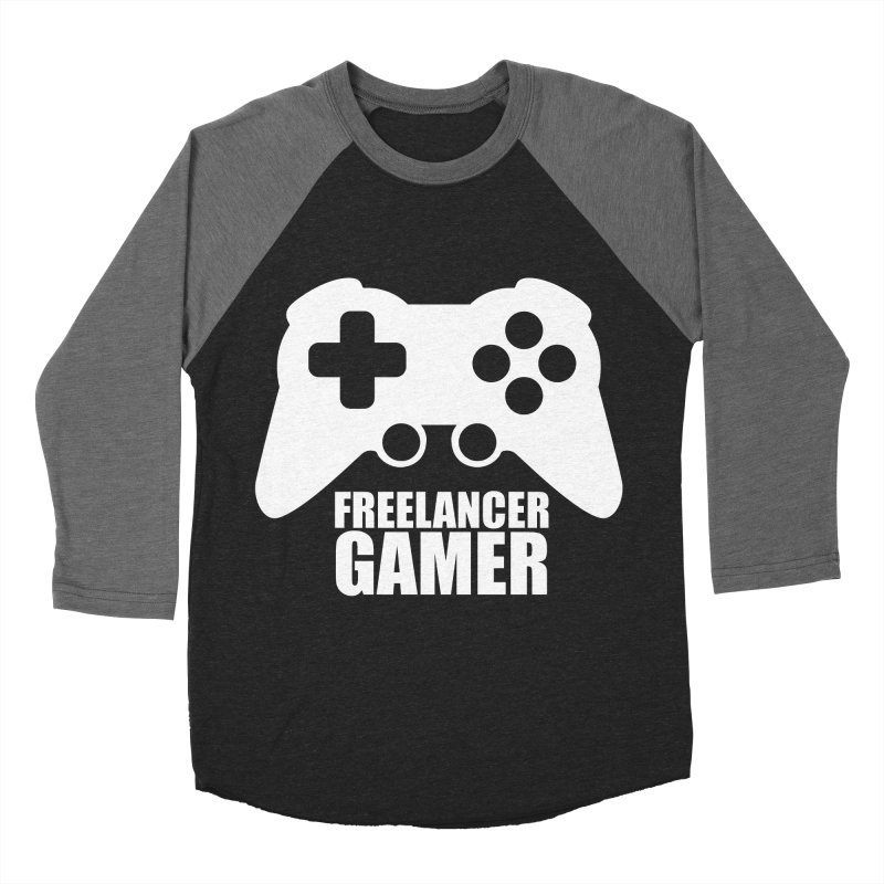 Freelancer Gamer Men's Baseball Triblend Longsleeve T-Shirt by freelancergamer's Artist Shop