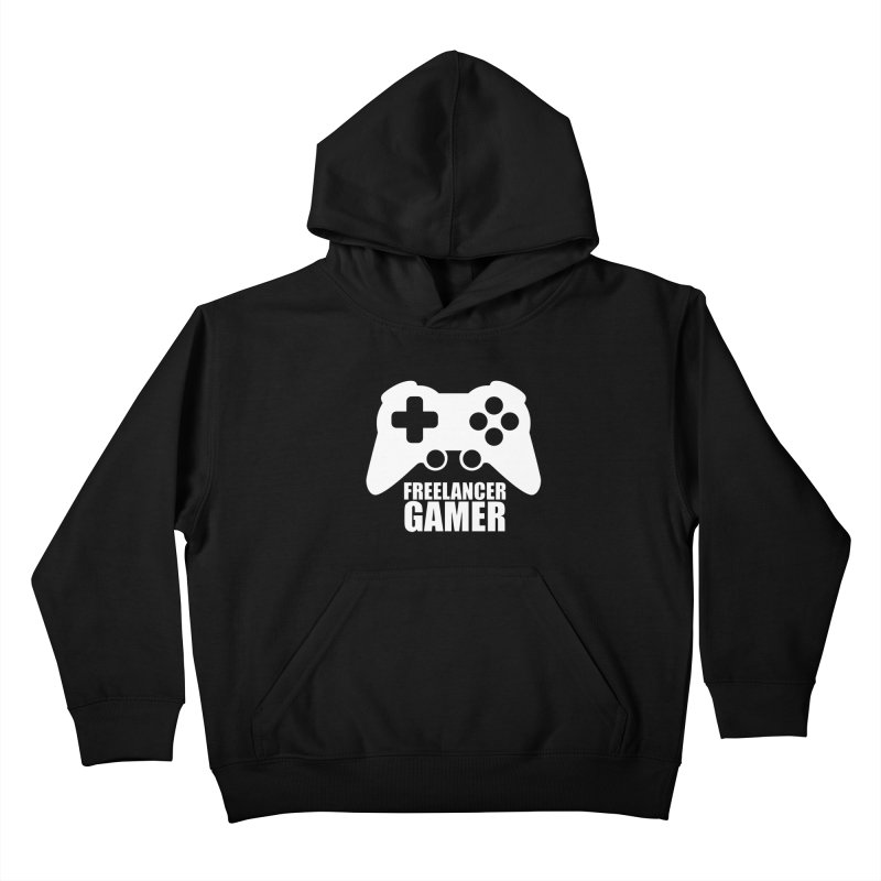 Freelancer Gamer Kids Pullover Hoody by freelancergamer's Artist Shop