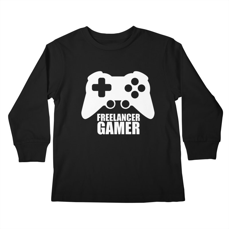 Freelancer Gamer Kids Longsleeve T-Shirt by freelancergamer's Artist Shop