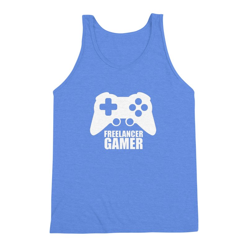 Freelancer Gamer Men's Triblend Tank by freelancergamer's Artist Shop