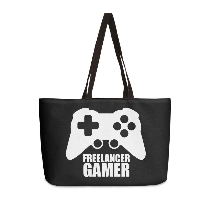 Freelancer Gamer Accessories Weekender Bag Bag by freelancergamer's Artist Shop
