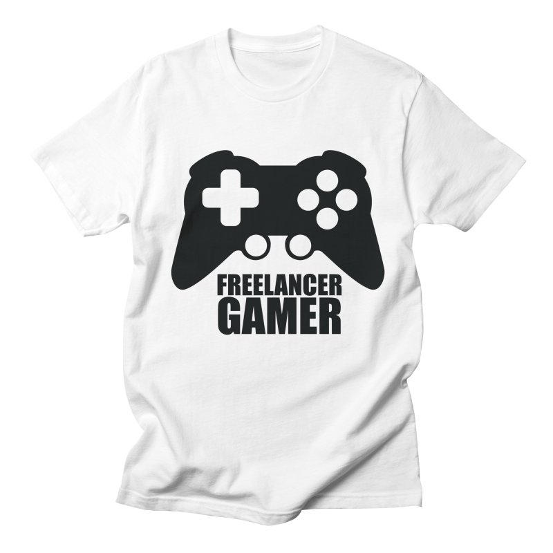 Freelancer Gamer Men's Regular T-Shirt by freelancergamer's Artist Shop
