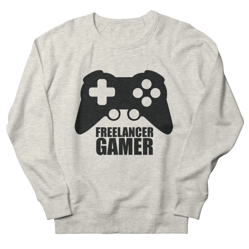 Freelancer Gamer Men's French Terry Sweatshirt by freelancergamer's Artist Shop