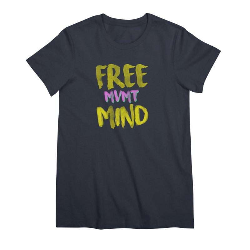 Freemind Black BG Women's Premium T-Shirt by FreemindMVMT Merch