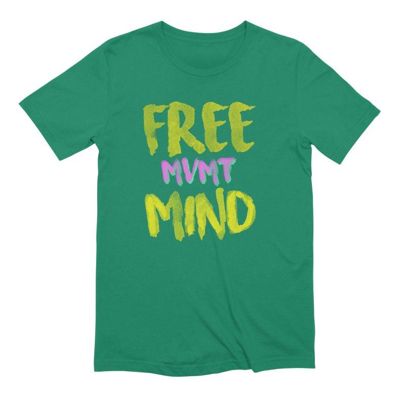 Freemind Black BG Men's Extra Soft T-Shirt by FreemindMVMT Merch