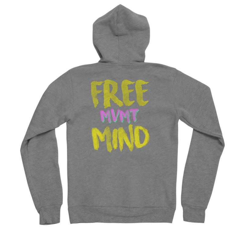 Freemind Black BG Women's Zip-Up Hoody by FreemindMVMT Merch