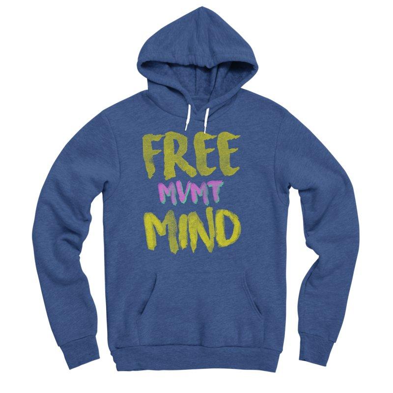 Freemind Black BG Men's Sponge Fleece Pullover Hoody by FreemindMVMT Merch