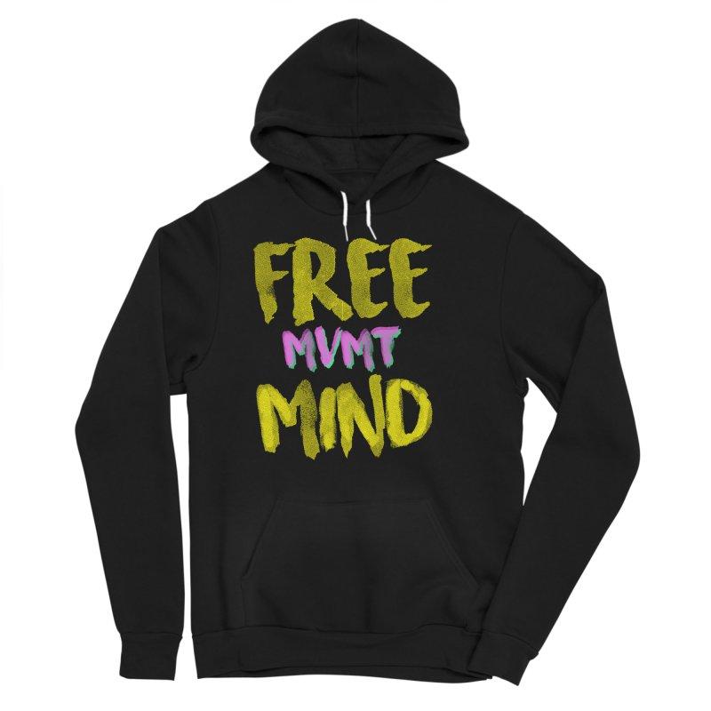 Freemind Black BG Women's Sponge Fleece Pullover Hoody by FreemindMVMT Merch
