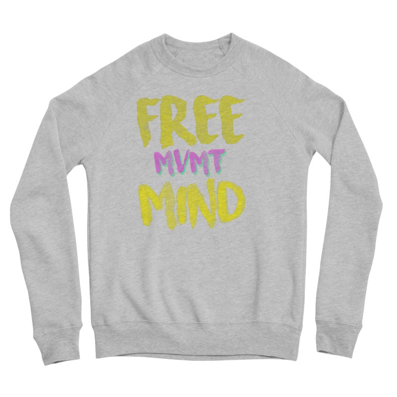 Freemind Black BG Men's Sponge Fleece Sweatshirt by FreemindMVMT Merch
