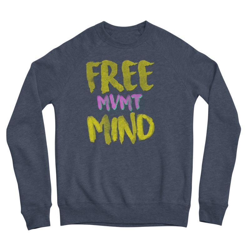 Freemind Black BG Women's Sponge Fleece Sweatshirt by FreemindMVMT Merch