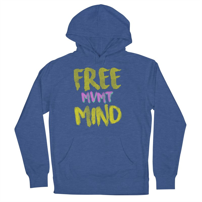 Freemind Black BG Men's French Terry Pullover Hoody by FreemindMVMT Merch