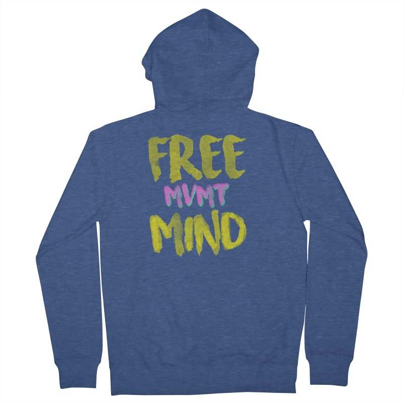 Freemind Black BG Men's Zip-Up Hoody by FreemindMVMT Merch