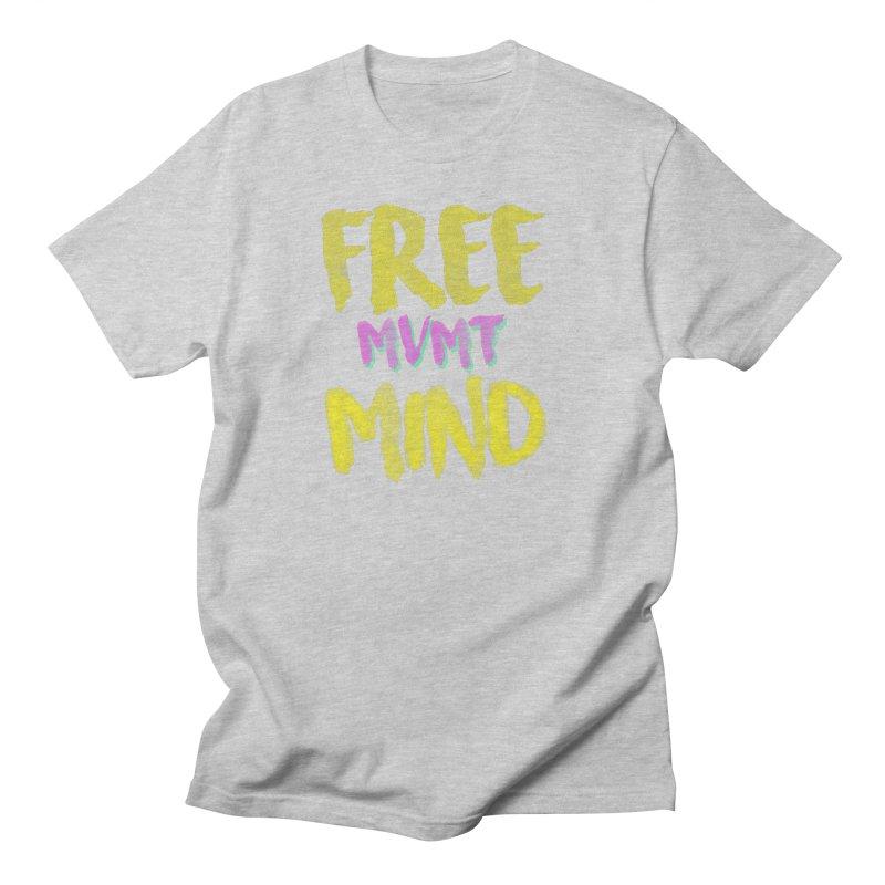 Freemind Black BG Men's Regular T-Shirt by FreemindMVMT Merch
