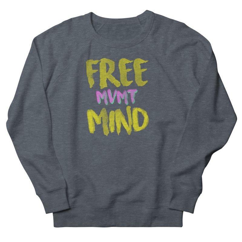 Freemind Black BG Women's French Terry Sweatshirt by FreemindMVMT Merch