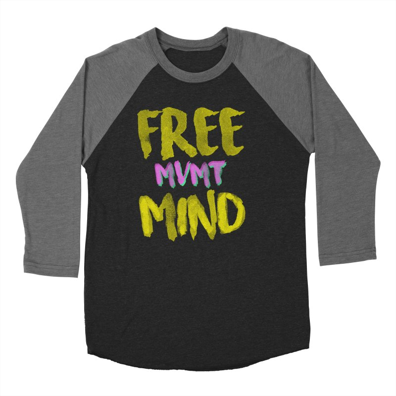 Freemind Black BG Men's Baseball Triblend Longsleeve T-Shirt by FreemindMVMT Merch