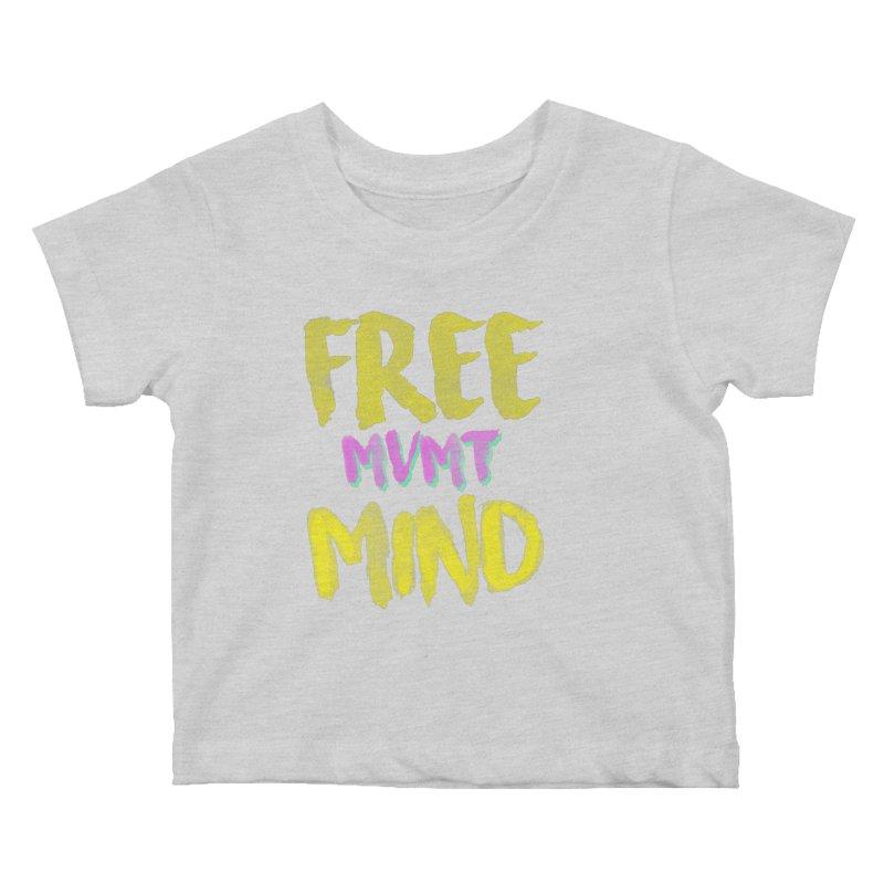 Freemind Black BG Kids Baby T-Shirt by FreemindMVMT Merch