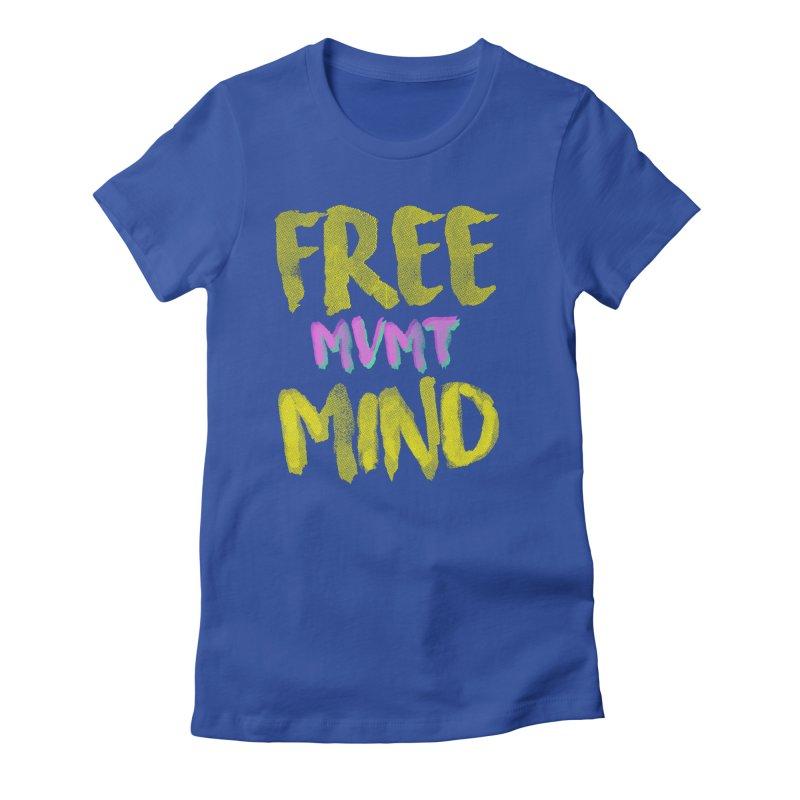 Freemind Black BG Women's Fitted T-Shirt by FreemindMVMT Merch