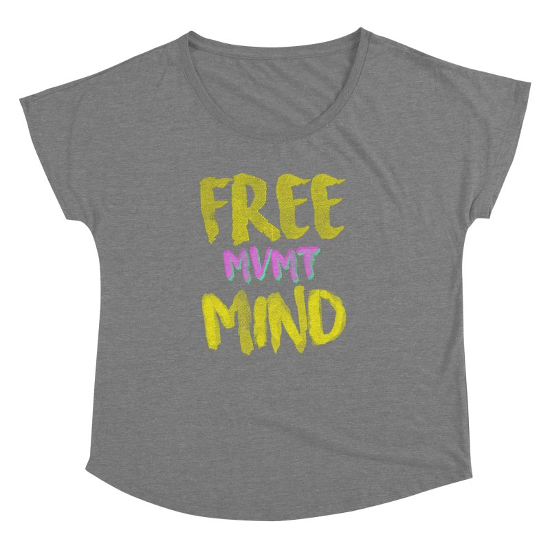 Freemind Black BG Women's Scoop Neck by FreemindMVMT Merch