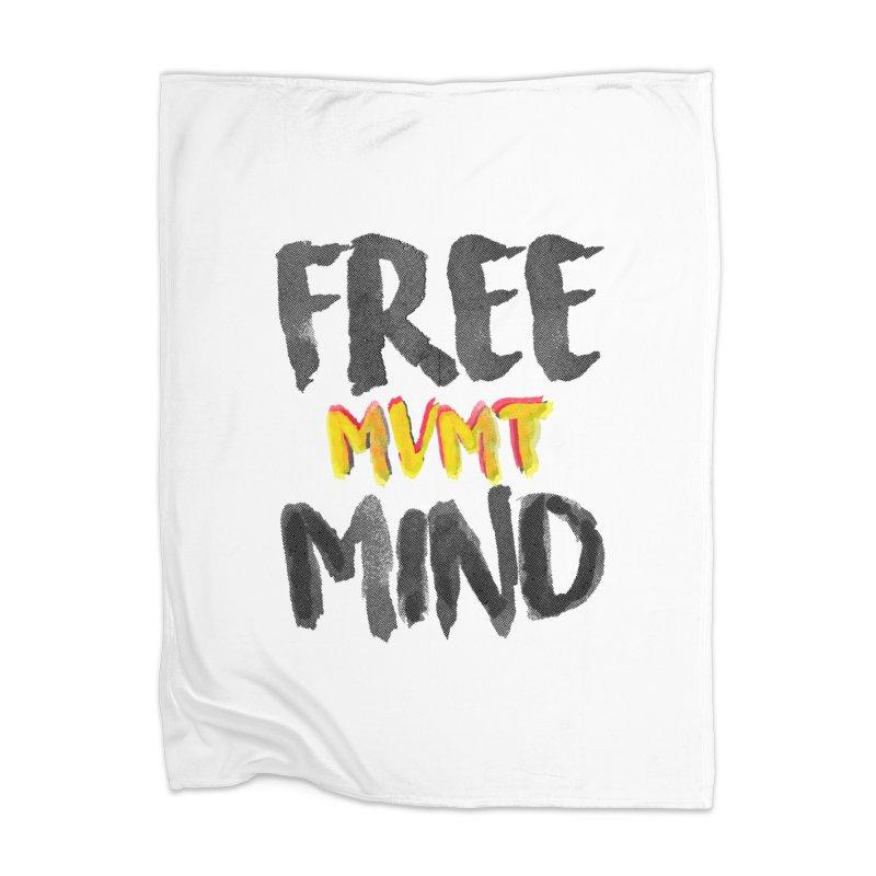 Freemind White BG Home Blanket by FreemindMVMT Merch