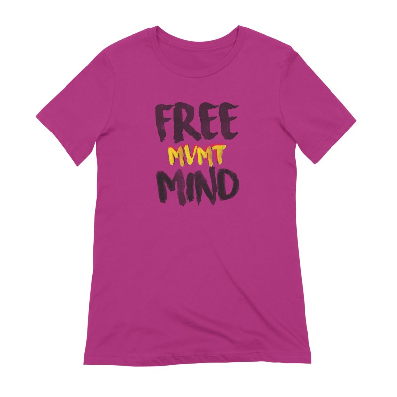 Freemind White BG Women's Extra Soft T-Shirt by FreemindMVMT Merch