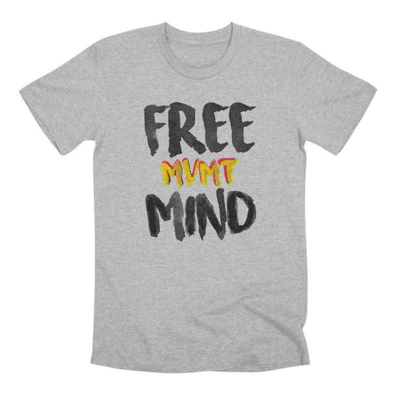 Freemind White BG Men's Premium T-Shirt by FreemindMVMT Merch