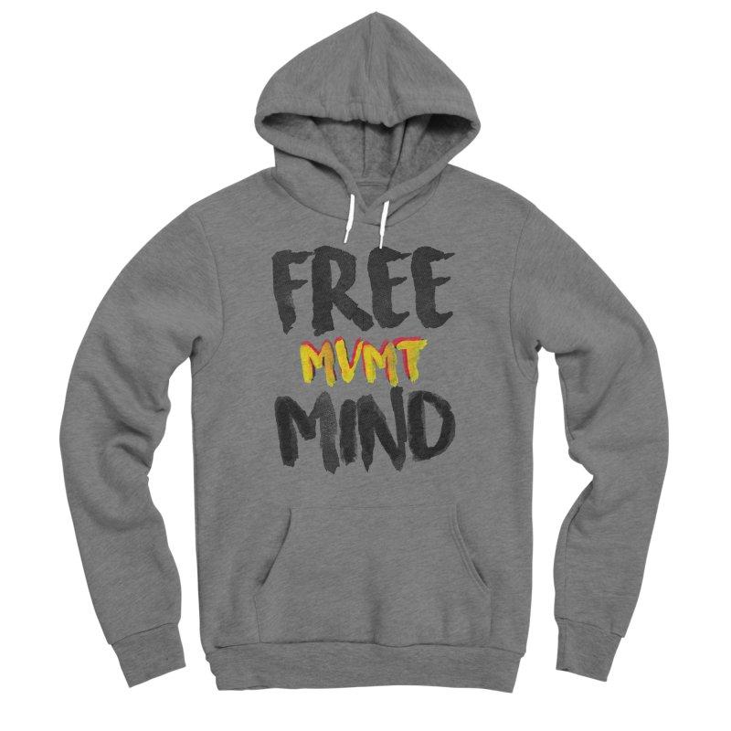 Freemind White BG Women's Sponge Fleece Pullover Hoody by FreemindMVMT Merch