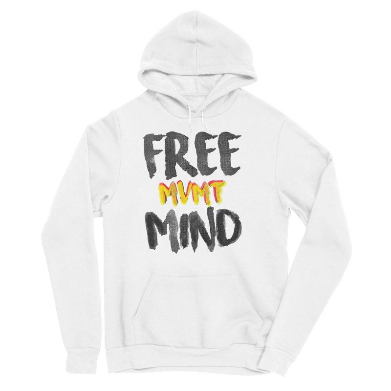 Freemind White BG Men's Pullover Hoody by FreemindMVMT Merch