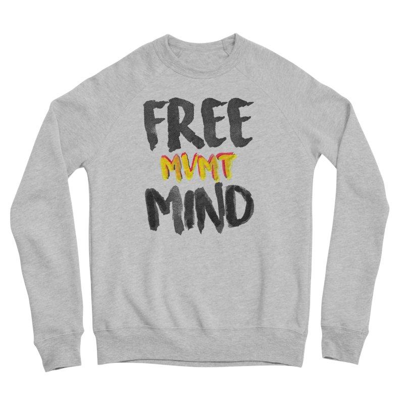 Freemind White BG Men's Sponge Fleece Sweatshirt by FreemindMVMT Merch
