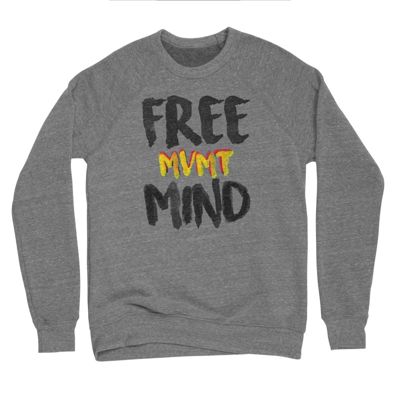 Freemind White BG Men's Sponge Fleece Sweatshirt by FreemindMVMT Merch