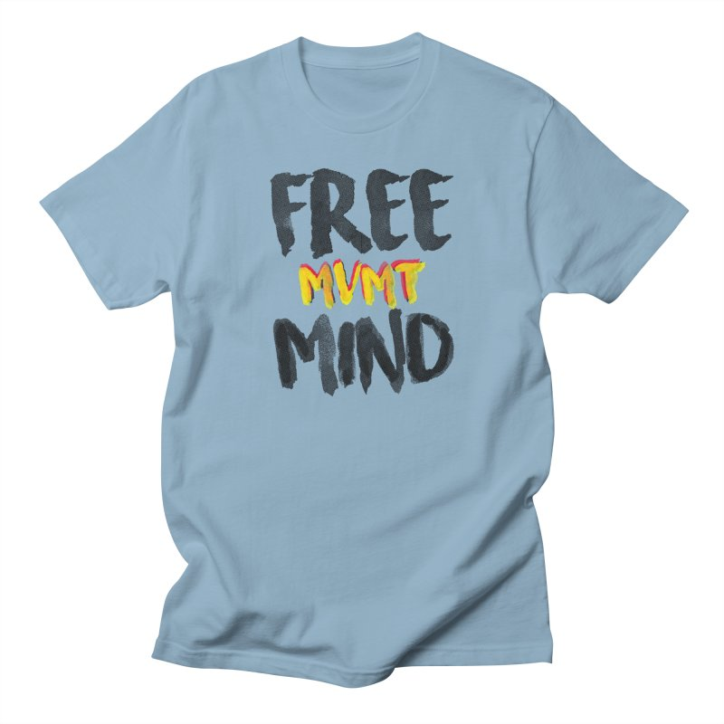 Freemind White BG Men's T-Shirt by FreemindMVMT Merch