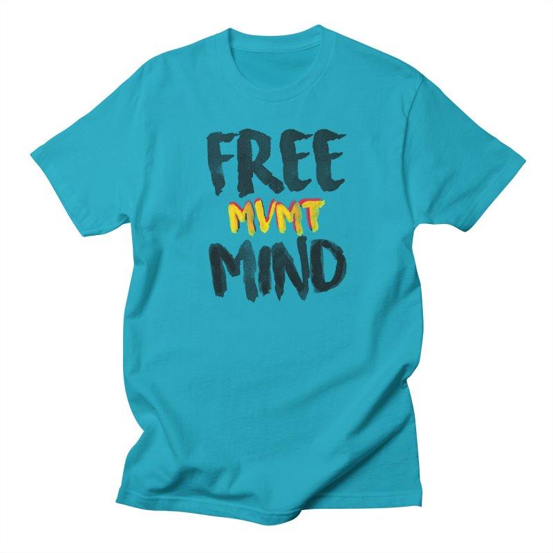 Freemind White BG Women's Regular Unisex T-Shirt by FreemindMVMT Merch